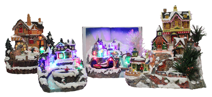 2011 Christmas Villages