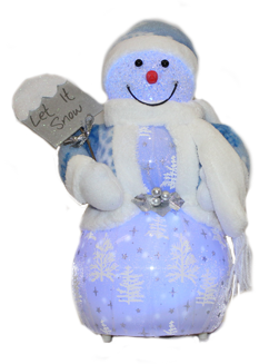 Decors: Snowfalling Snowman