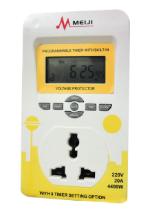 Voltage Protector with Timer
