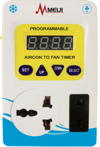 Meiji aircon to fan timer