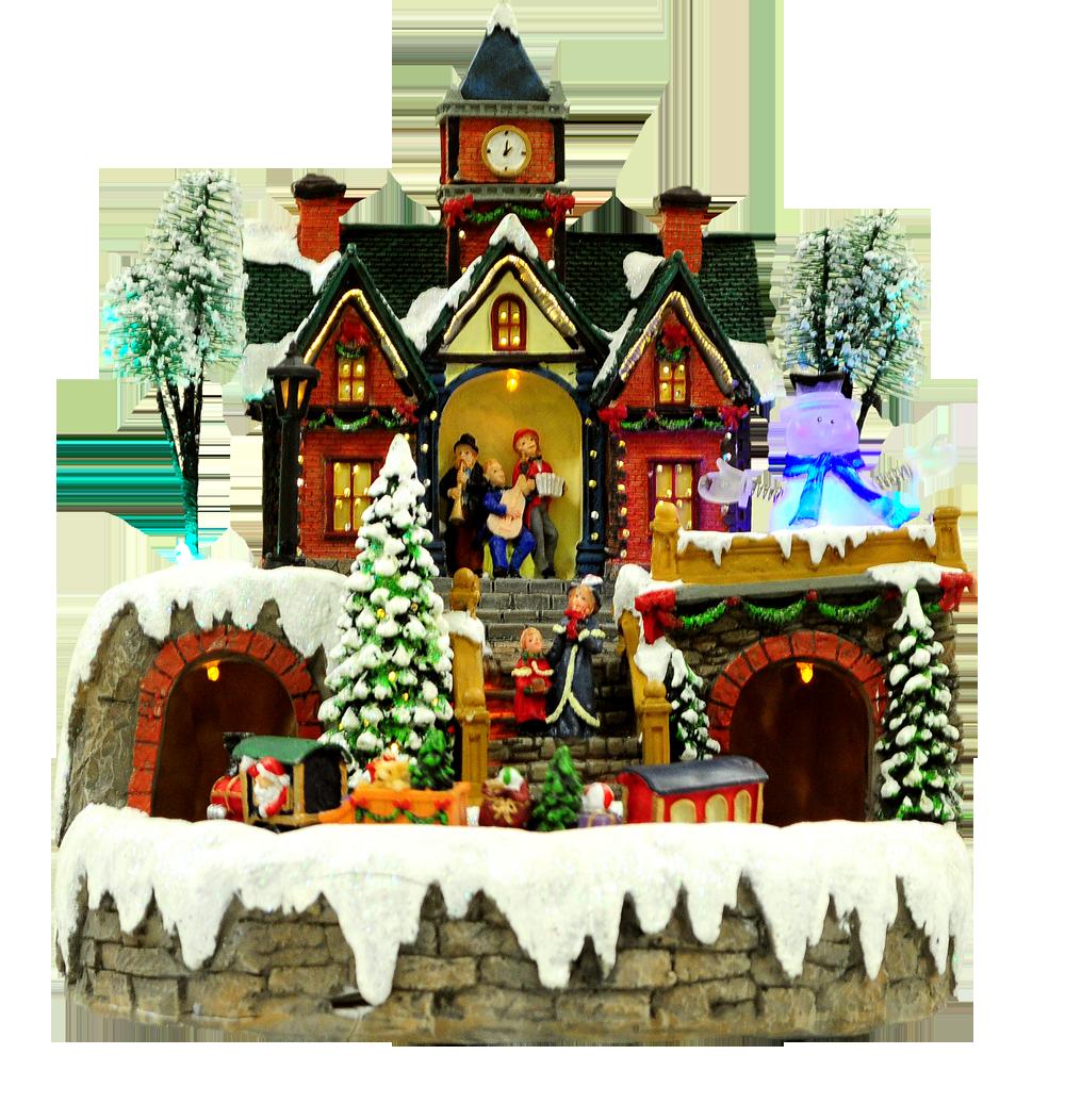 Christmas Moving Train