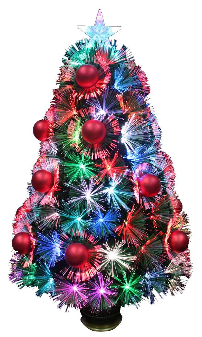 Fiber-Optic-Christmas-Trees